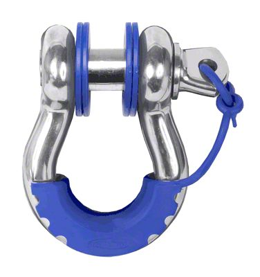Daystar D-Ring Locking Isolators & Washers - Blue