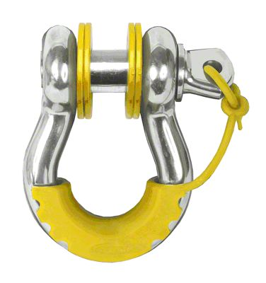 Daystar D-Ring Locking Isolators & Washers - Yellow