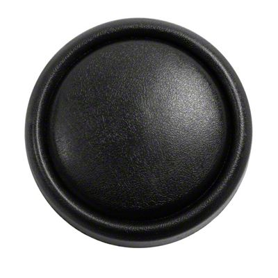 Omix-ADA Horn Button Cap on Steering Wheel - Black (87-95 Jeep Wrangler YJ)