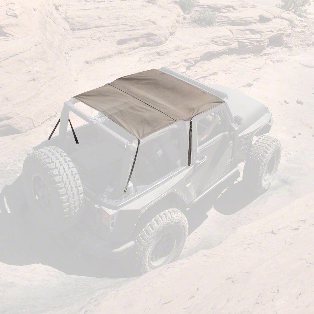Smittybilt Extended Top - Khaki Diamond (07-09 Jeep Wrangler JK 2 Door)