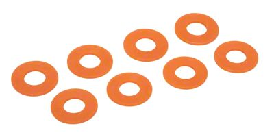 Daystar D-Ring Washers - Fluorescent Orange