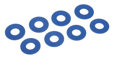 Daystar D-Ring Washers - Blue