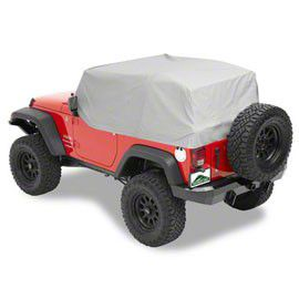 Pavement Ends Canopy Cover - Charcoal (07-18 Jeep Wrangler JK 2 Door)