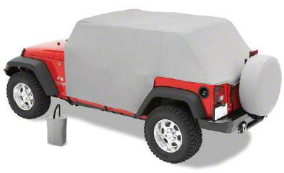 Pavement Ends Canopy Cover - Charcoal (07-18 Jeep Wrangler JK 4 Door)