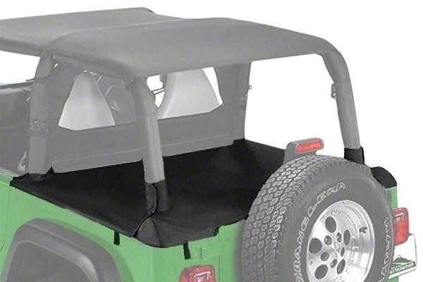 Cargo Cover - Black Diamond (03-06 Jeep Wrangler TJ)