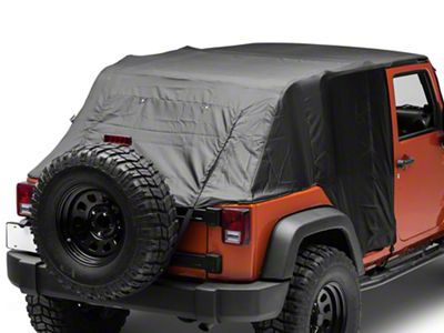 Pavement Ends Emergency Top - Black (07-18 Jeep Wrangler JK 4 Door)
