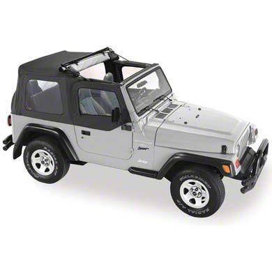 Flip Soft Top - Black Denim (87-95 Jeep Wrangler YJ)