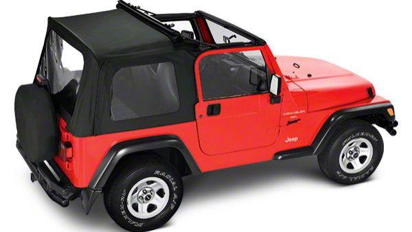 Flip Soft Top - Black Denim (97-06 Jeep Wrangler TJ, Excluding Unlimited)
