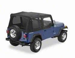 Replay Soft Top w/ Tinted Windows - Black Diamond (88-95 Jeep Wrangler YJ)