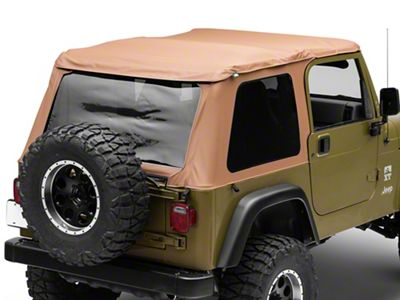 Pavement Ends Sprint Top Frameless Soft Top - Spice (97-06 Jeep Wrangler TJ, Excluding Unlimited)