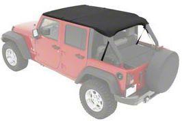 Pavement Ends Sun Cap Plus - Black Diamond (07-18 Jeep Wrangler JK 4 Door)