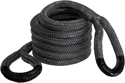 Bubba Rope 1-1/2 in. x 30 ft. Jumbo Bubba Black Eye Rope - 74,000 lb.
