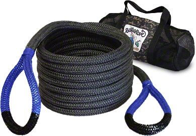 Bubba Rope 1-1/2 in. x 30 ft. Jumbo Bubba Blue Eye Rope - 74,000 lb.