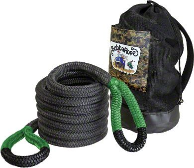 Bubba Rope 1-1/2 in. x 30 ft. Jumbo Bubba Green Eye Rope - 74,000 lb.
