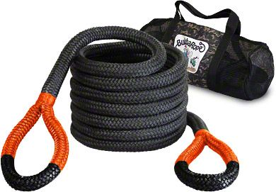 Bubba Rope 1-1/2 in. x 30 ft. Jumbo Bubba Orange Eye Rope - 74,000 lb.
