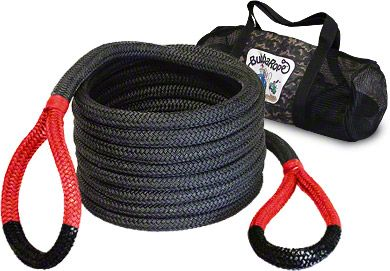 Bubba Rope 1-1/2 in. x 30 ft. Jumbo Bubba Red Eye Rope - 74,000 lb.
