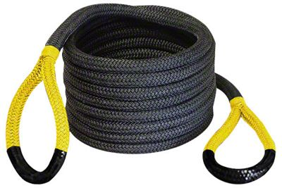 Bubba Rope 1-1/2 in. x 30 ft. Jumbo Bubba Yellow Eye Rope - 74,000 lb.