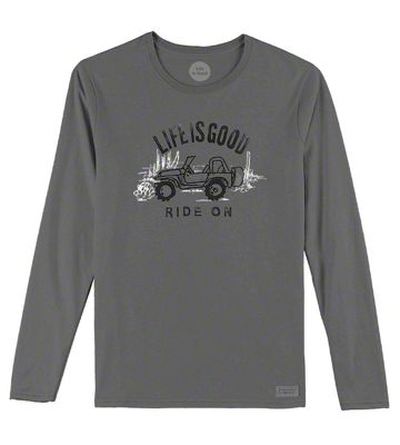 Life is Good Women's Ride On Long Sleeve Shirt