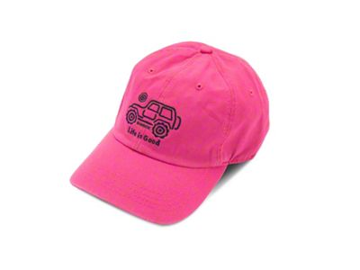 Life is Good Native Off-Road Chill Hat - Pink