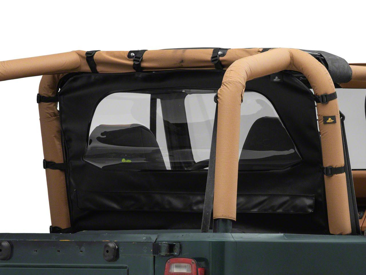 Bestop WrapAround Windjammer - Black Crush (87-95 Jeep Wrangler YJ)