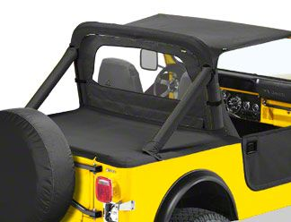 Bestop Windjammer - Black Denim (87-95 Jeep Wrangler YJ)