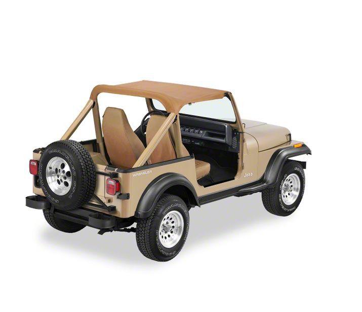 Bestop Targa-Style Strapless Bikini Top - Spice (92-95 Jeep Wrangler YJ)