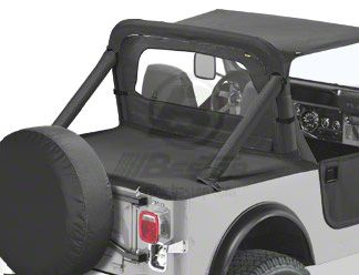 Bestop Duster Deck Cover (87-91 Jeep Wrangler YJ w/ Soft Top)
