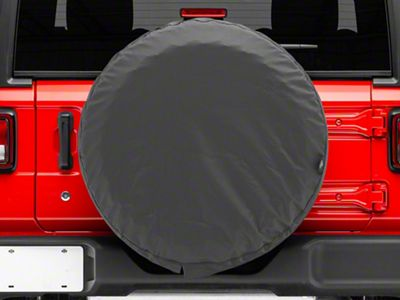 Bestop Spare Tire Cover - Black Denim (87-18 Jeep Wrangler YJ, TJ, JK & JL)