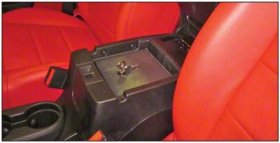 Bestop Center Console Storage Lock Box (11-18 Jeep Wrangler JK)