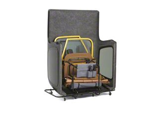 Bestop HOSS Hardtop Cart & Door Cart (87-06 Jeep Wrangler YJ & TJ)