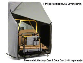 Bestop HOSS Cover for 2-Piece Hard Tops (87-06 Jeep Wrangler YJ & TJ)