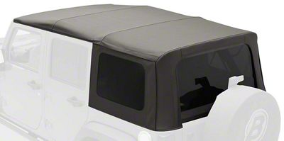 Bestop Sailclotch Replace-a-Top w/ Tinted Windows - Black Diamond (2010 Jeep Wrangler JK 4 Door)