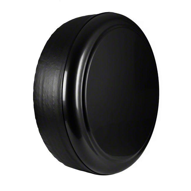 Boomerang Rigid Spare Tire Cover - Black (87-18 Jeep Wrangler YJ, TJ & JK)