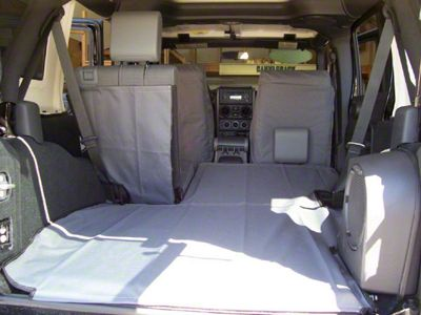 Canvasback Cargo Liner - Camouflage (07-10 Jeep Wrangler JK 4 Door)