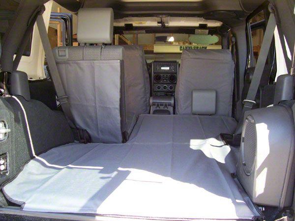 Canvasback Cargo Liner - Tan Plaid (07-10 Jeep Wrangler JK 4 Door)