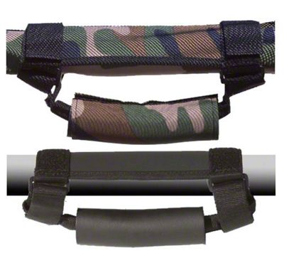 Vertically Driven Deluxe Grab Handles - Camouflage (87-18 Jeep Wrangler YJ, TJ, JK & JL)