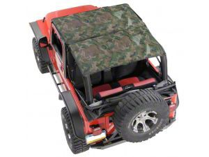 Vertically Driven KoolBreez Full-Length Sun Screen Brief Top - Camouflage (97-02 Jeep Wrangler TJ)