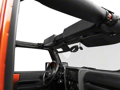 Vertically Driven Overhead Storage Console (87-18 Jeep Wrangler YJ, TJ & JK)