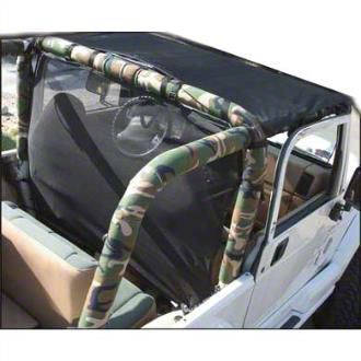 Vertically Driven Sport Roll Bar Cover - Camouflage (92-95 Jeep Wrangler YJ)