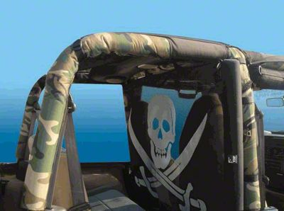 Vertically Driven Sport Roll Bar Cover - Camouflage (97-02 Jeep Wrangler TJ)