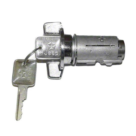 Omix-ADA Ignition Switch w/ Key (87-90 Jeep Wrangler YJ)