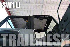 SpiderWeb Shade ShadeTop Trail Mesh - Tan (04-06 Jeep Wrangler TJ Unlimited)