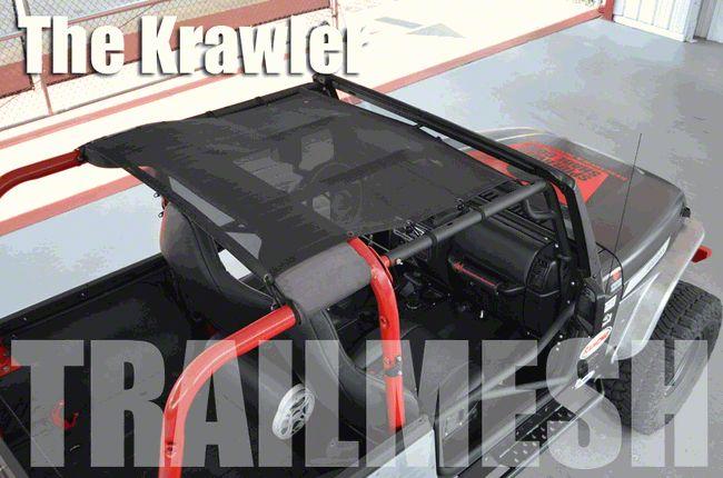 SpiderWeb Shade Krawler Trail Mesh Top - Yellow (97-06 Jeep Wrangler TJ)