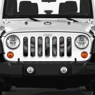 Dirty Acres Grille Insert - Always Watching (07-18 Jeep Wrangler JK)