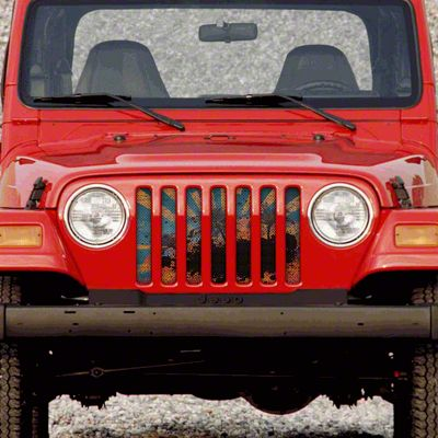 Dirty Acres Grille Insert - Cali (97-06 Jeep Wrangler TJ)