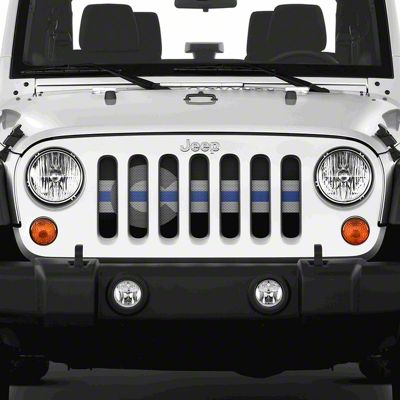 Dirty Acres Grille Insert - Colorado Tactical State Flag (07-18 Jeep Wrangler JK)