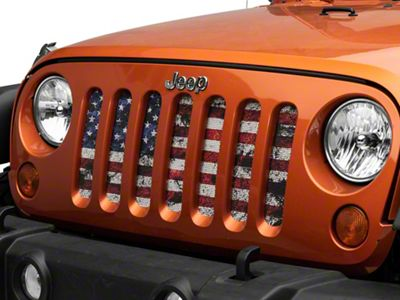 Dirty Acres Grille Insert - Dirty Grace (07-18 Jeep Wrangler JK)