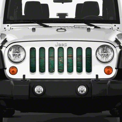 Dirty Acres Grille Insert - Homestead (07-18 Jeep Wrangler JK)