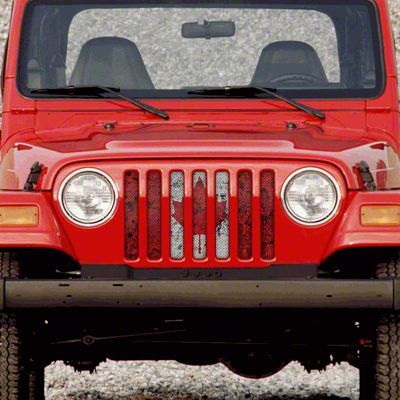 Dirty Acres Grille Insert - Oh, Canada (97-06 Jeep Wrangler TJ)