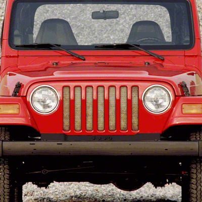 Dirty Acres Grille Insert - Sandy Skies (97-06 Jeep Wrangler TJ)